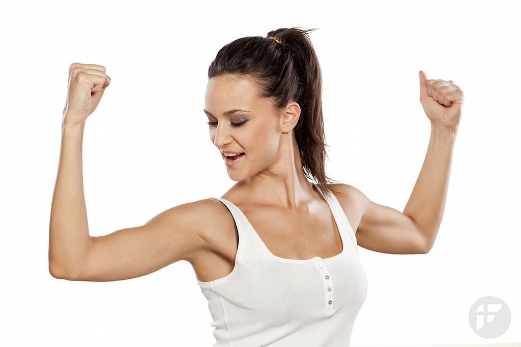 Похудели рук и плеч