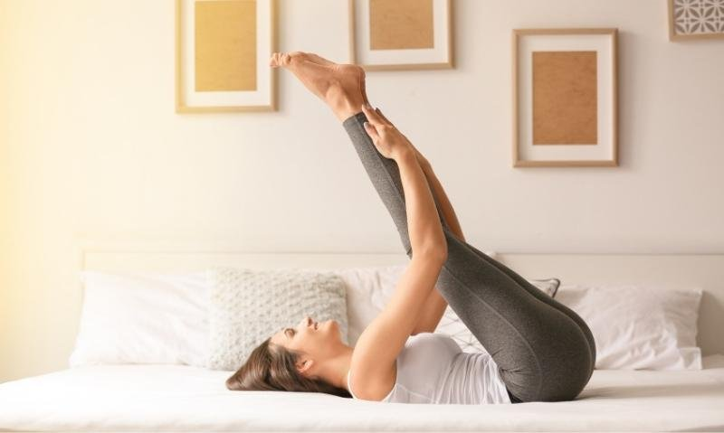 Try This 10-Minute Bedtime Yoga for Better Sleep - Fitwirr