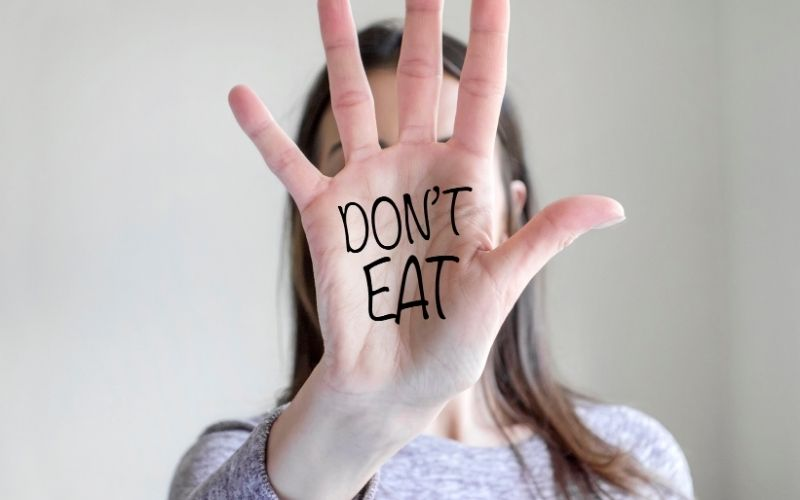 Foods nutritionists never eat